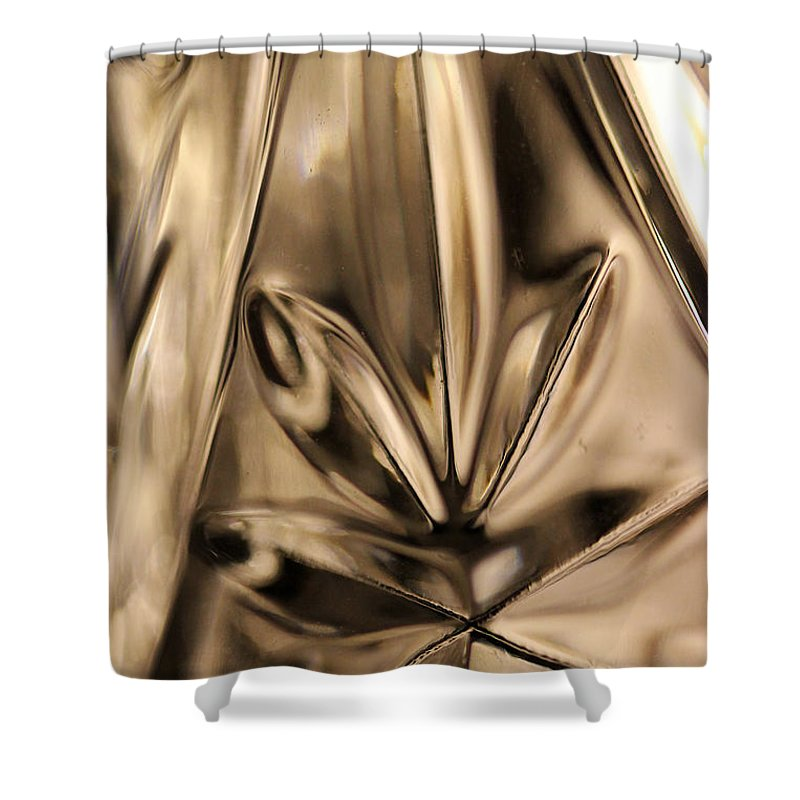 Crystal Shower Curtain featuring the photograph Candle Holder 4 by Mary Bedy