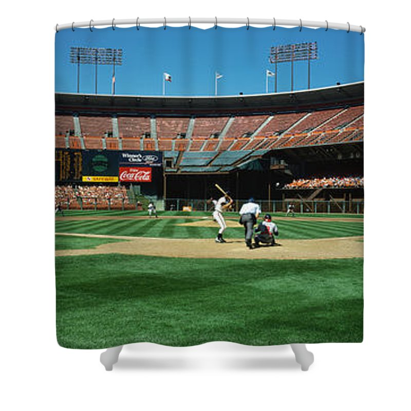 San Francisco Giants Ballpark Shower Curtains   Pixels