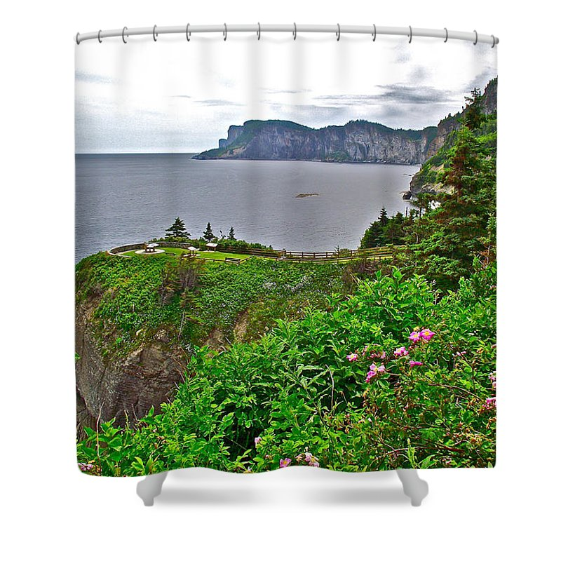 Cap-bon-ami In Forillon Np Shower Curtain featuring the photograph Cap-bon-ami In Forillon Np-qc by Ruth Hager