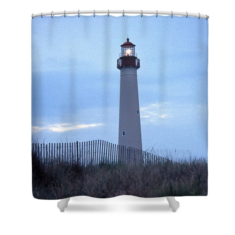 Cape May Shower Curtain featuring the photograph Cape May Evening by Skip Willits