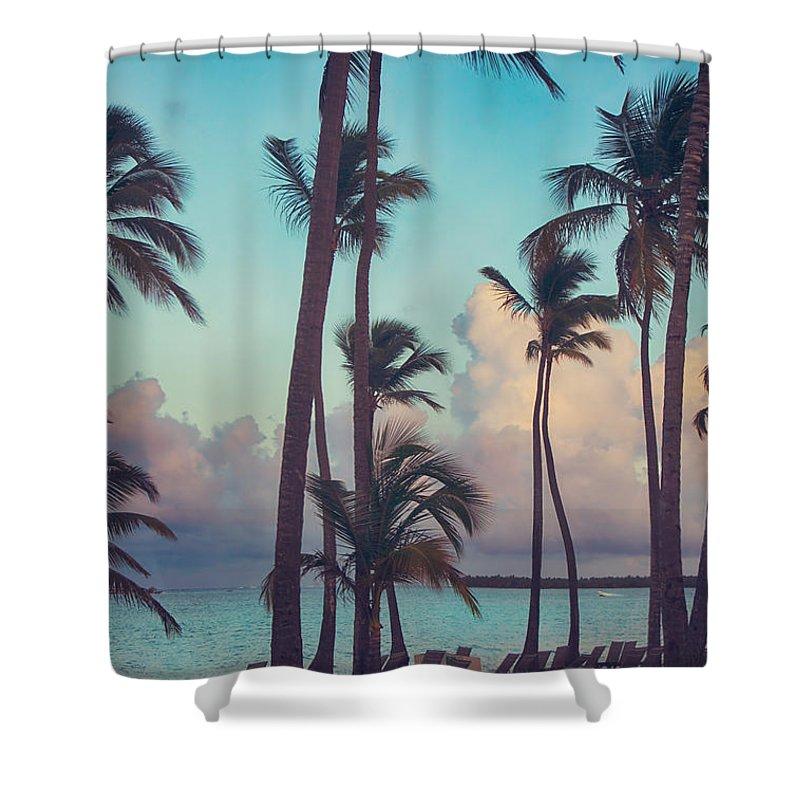Punta Photographs Shower Curtains