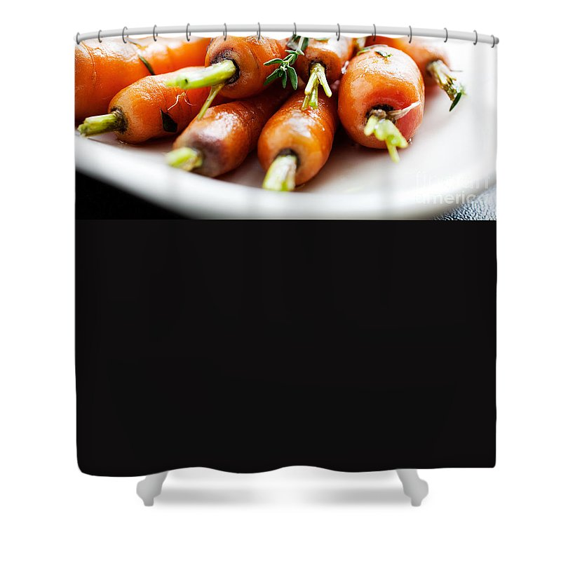 Carrot Shower Curtains