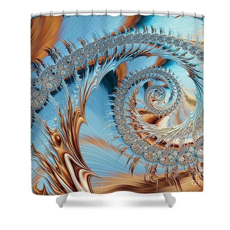 Background Shower Curtain featuring the photograph Catch A Wave by Heidi Smith