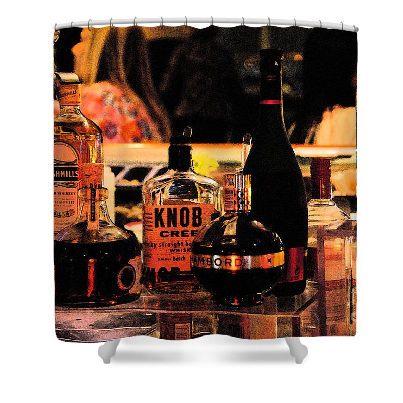 Cruising Shower Curtain featuring the photograph Cheers by Cindy Manero