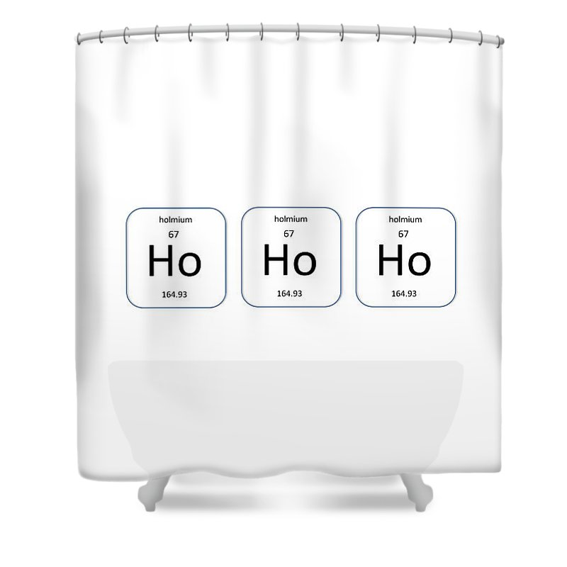 Richard Reeve Shower Curtain Featuring The Photograph Chemistry