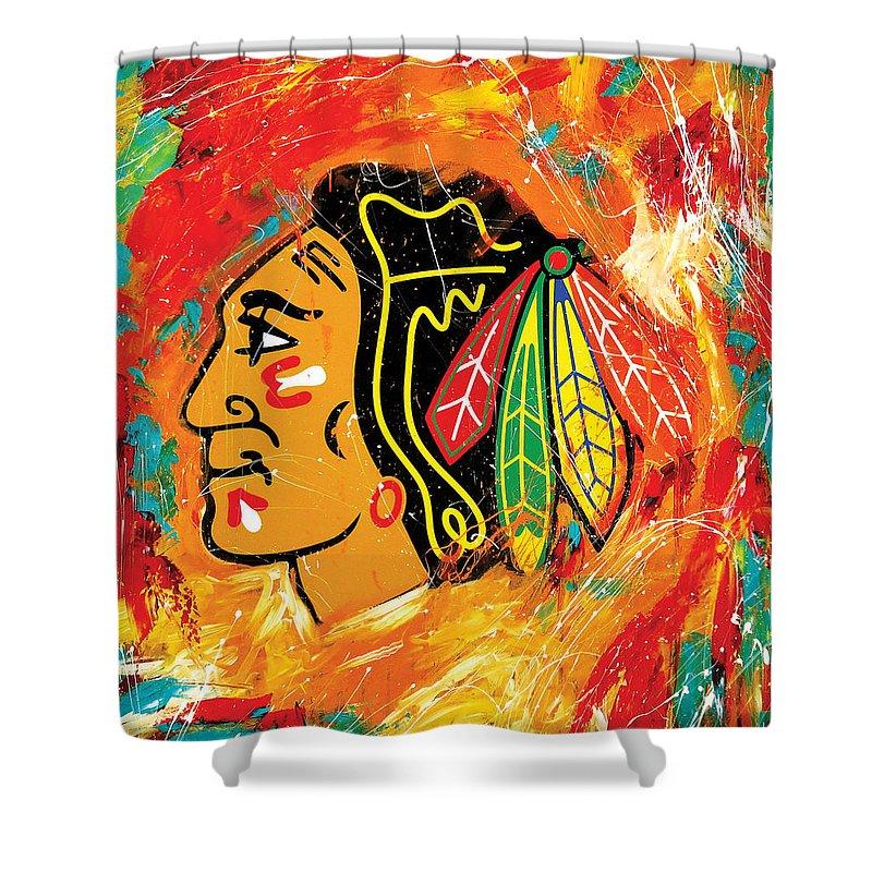 Hockey Shower Curtains