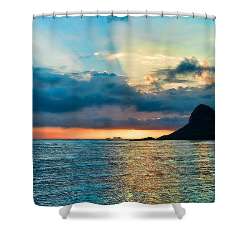 Chinamans Hat Hawaii: Chinaman's Hat Panorama Shower Curtain For Sale By Dan McManus