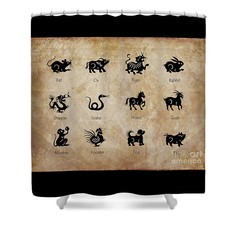 Sign Of Zodiac Shower Curtains