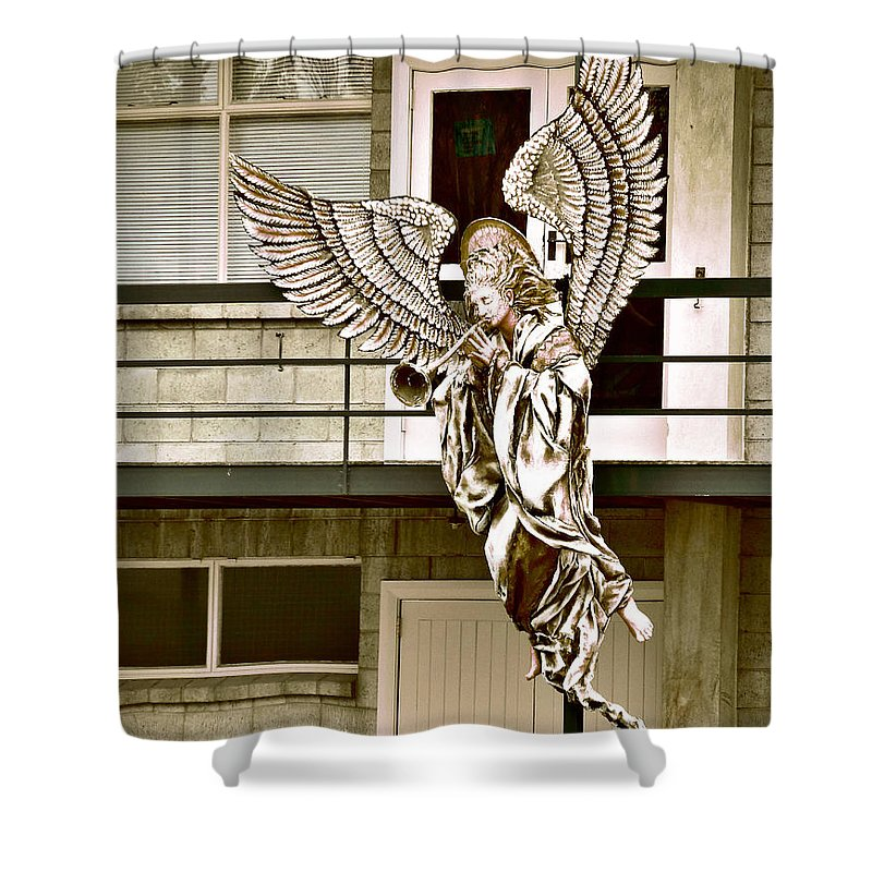 Earthquake Shower Curtain featuring the photograph Christmas Comes But Once A Year by Steve Taylor