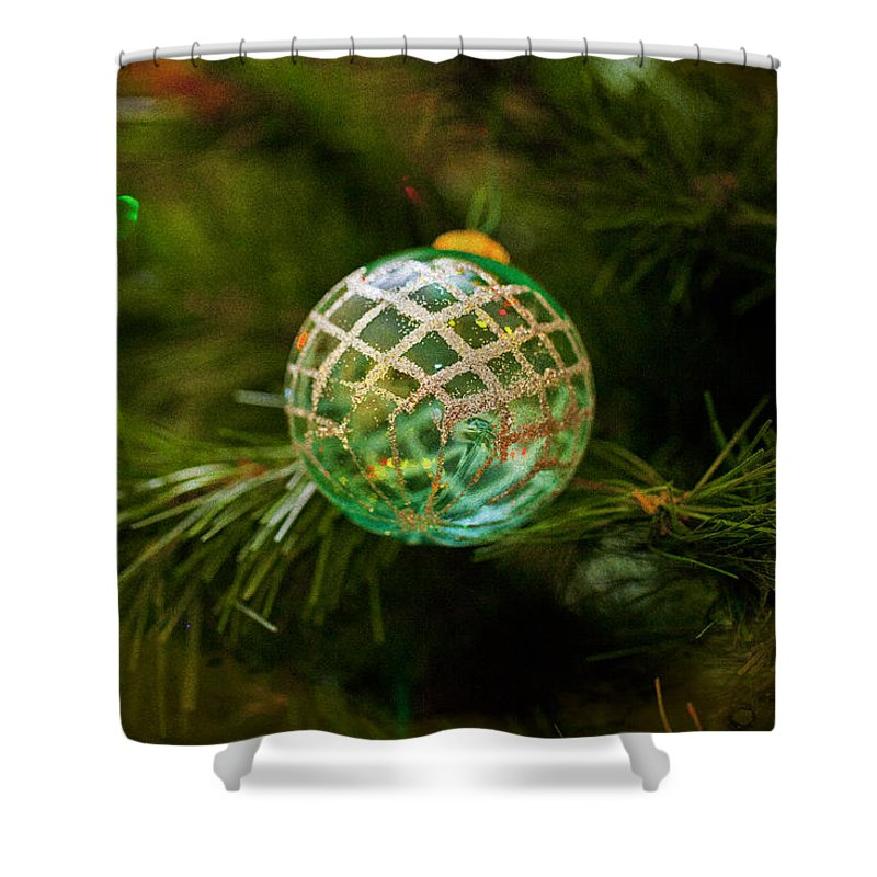 Merry Christmas Shower Curtain featuring the photograph Christmas Wish by Angela Stanton