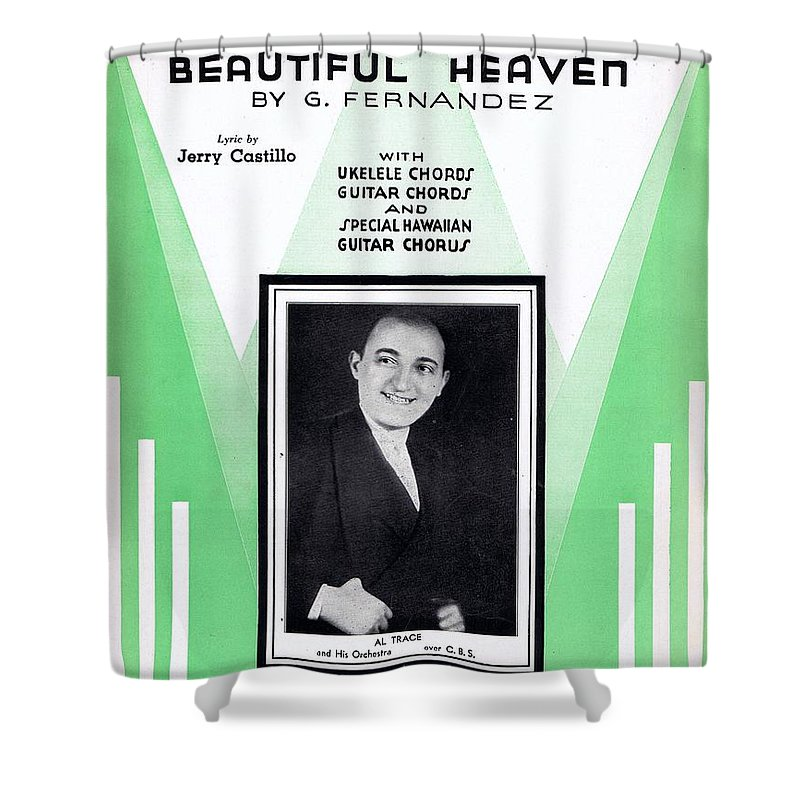 Nostalgia Shower Curtain featuring the photograph Cielito Lindo by Mel Thompson