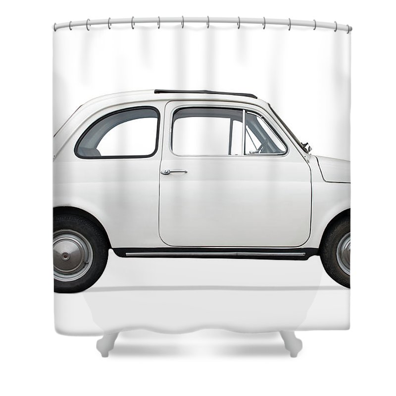 1950-1959 Shower Curtain featuring the photograph Classic Car by Lalocracio