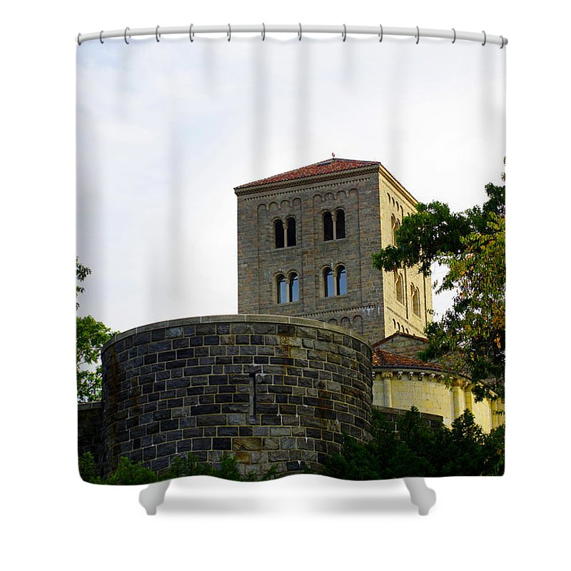 New Shower Curtain featuring the photograph Cloisters Iv by Pablo Rosales