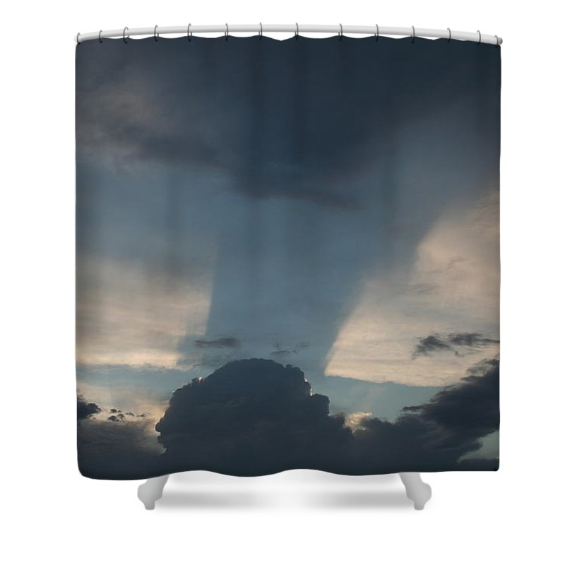 Sky Shower Curtain featuring the photograph Cloud Shadow by David S Reynolds