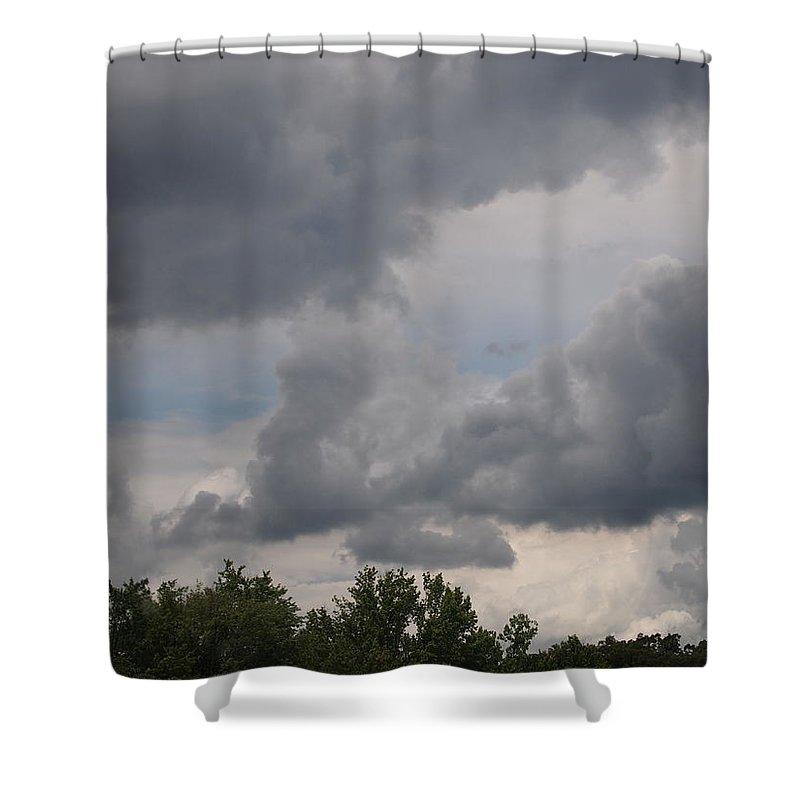Clouds Shower Curtain featuring the photograph Passageways by Jill Rucker Simmons