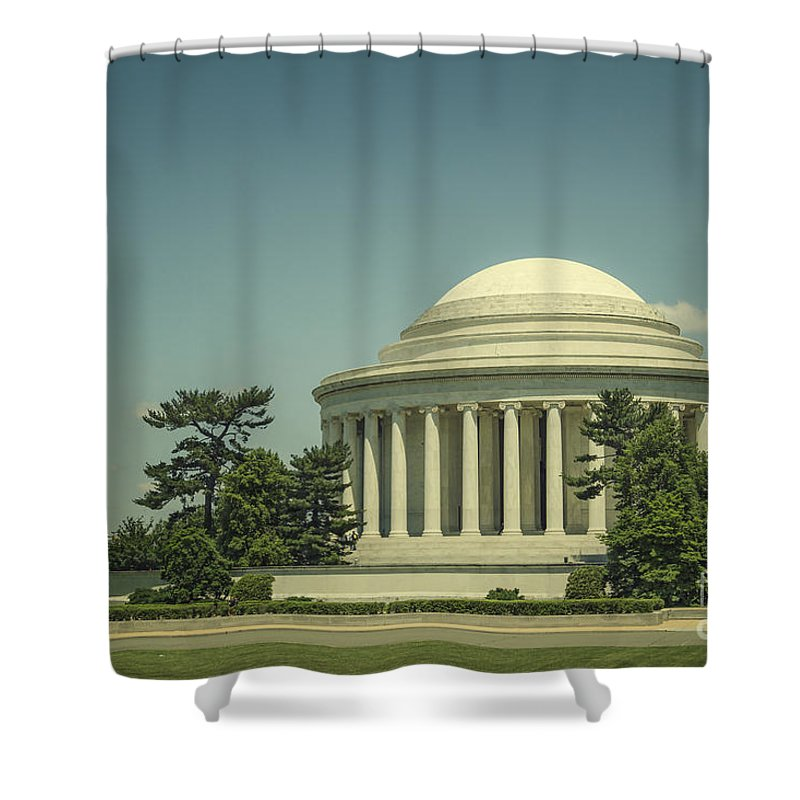 Jefferson Shower Curtain featuring the photograph Code Of Honor by Evelina Kremsdorf