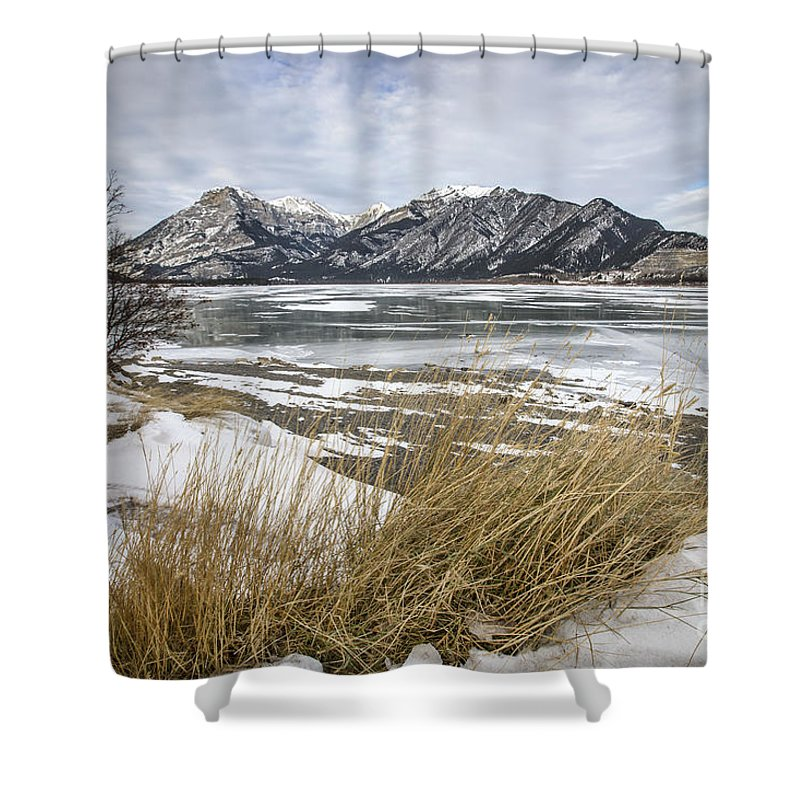 Canadian Rockies Shower Curtains