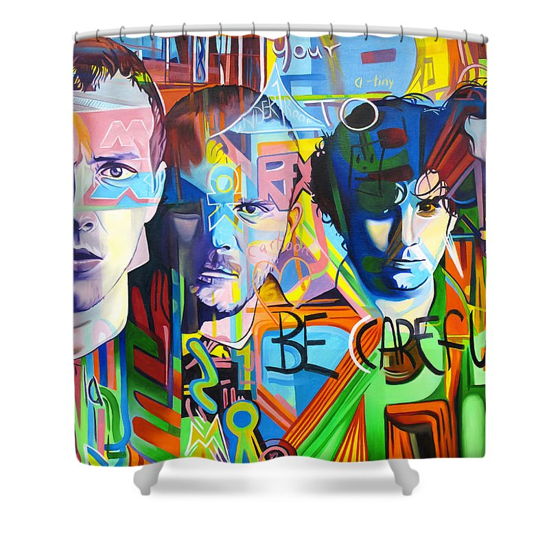 Coldplay Shower Curtains