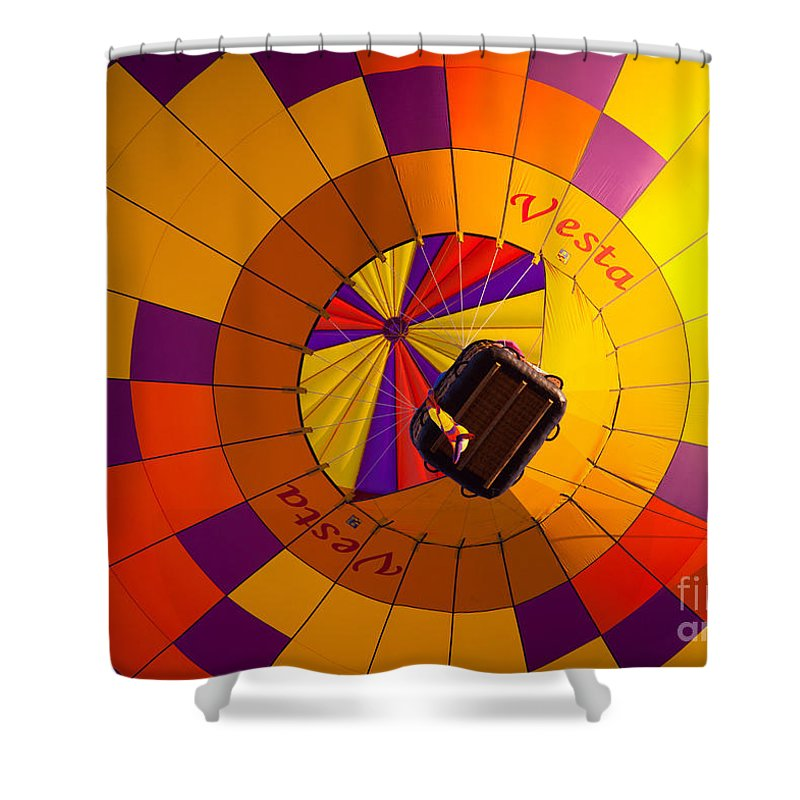 America Shower Curtain featuring the photograph Colorful Underbelly by Inge Johnsson