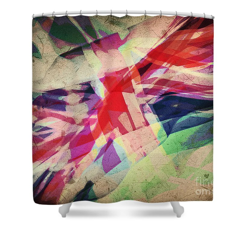 Nag004147 Shower Curtain featuring the photograph Colours Of A Kingdom by Edmund Nagele