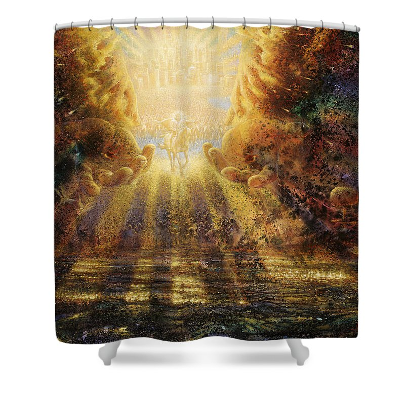 Rapture Shower Curtains