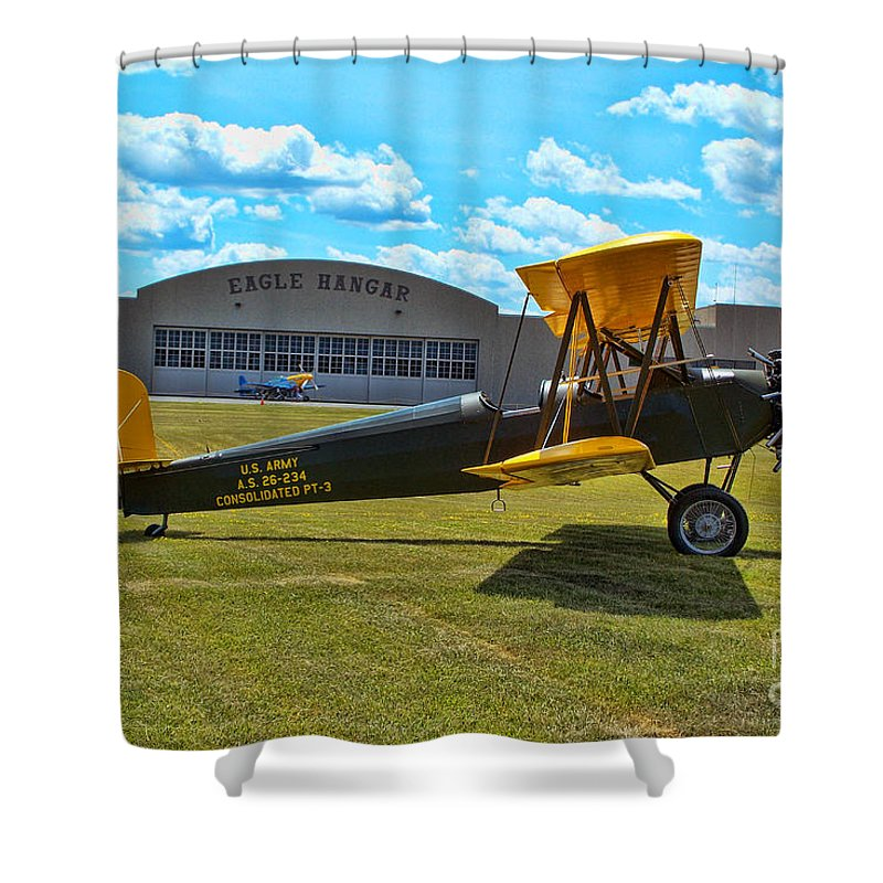 Consolidated Pt-3 Shower Curtain featuring the photograph Consolidated Pt-3 by Tommy Anderson