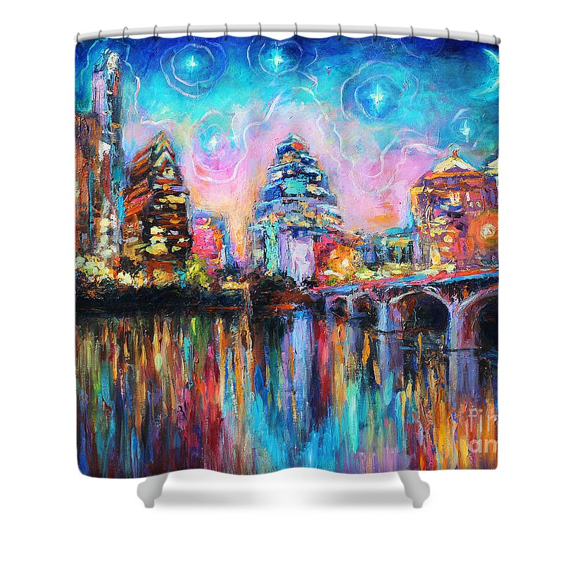 Downtown Shower Curtains