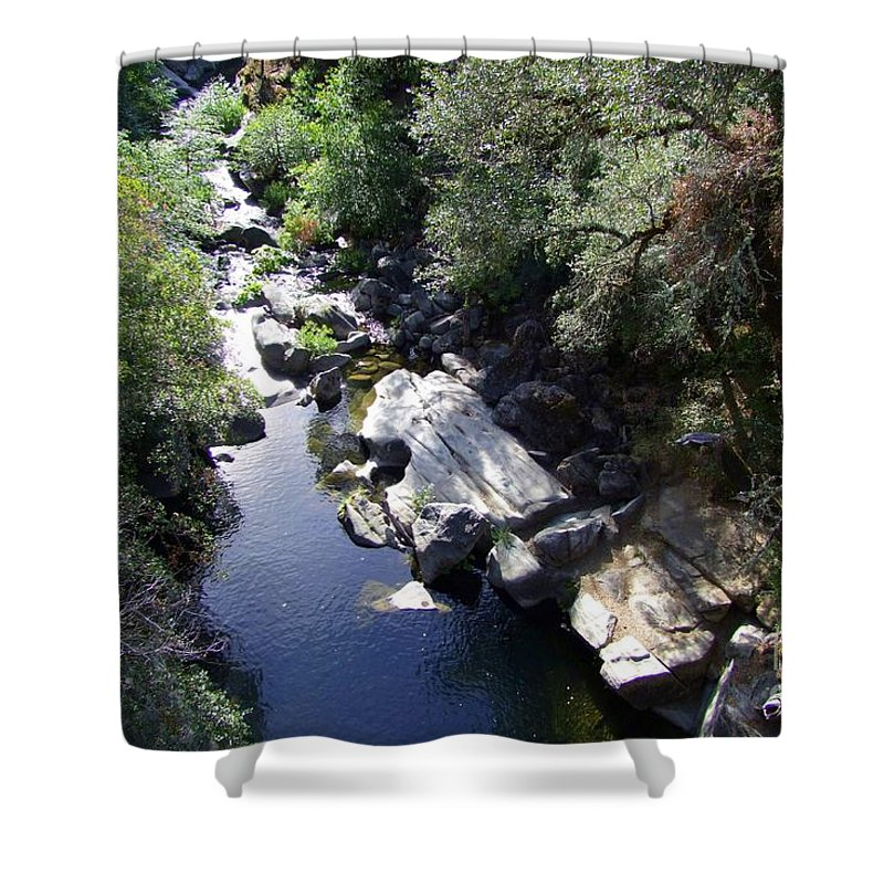 Creek Shower Curtain featuring the photograph Cool Mountain Creek by Mary Deal
