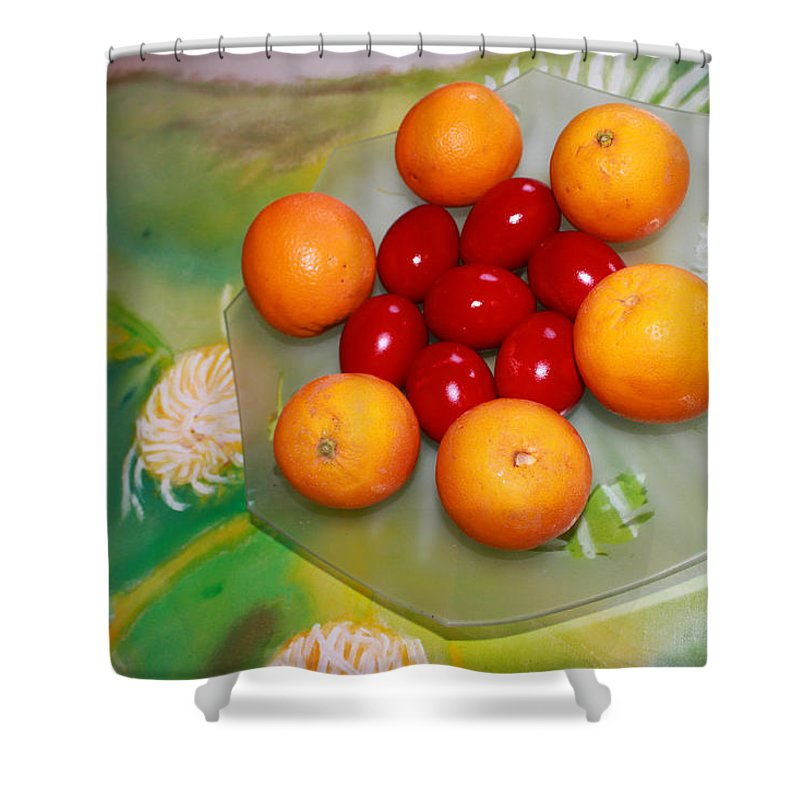 Augusta Stylianou Shower Curtain featuring the photograph Coulourful Easter by Augusta Stylianou