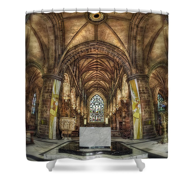 Cathedral Shower Curtain featuring the photograph Count Your Blessings by Evelina Kremsdorf