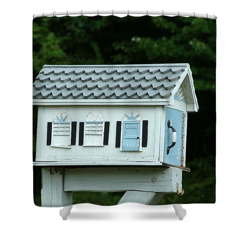 Country Shower Curtain featuring the photograph Countryside Mailbox #23 by Robert DeFosses
