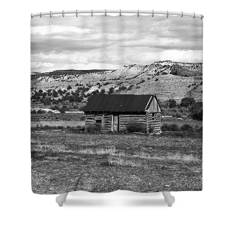 Utah Shower Curtain featuring the photograph Courage by Kathy McClure
