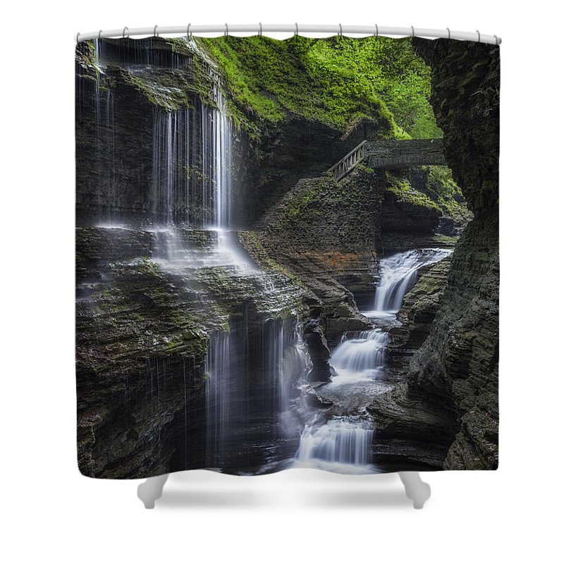 Watkins Glen Shower Curtain featuring the photograph Crown Jewel by Bill Wakeley