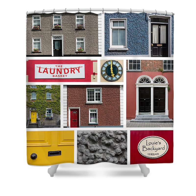 Art Shower Curtain featuring the photograph Cultural Kilkenny by Semmick Photo