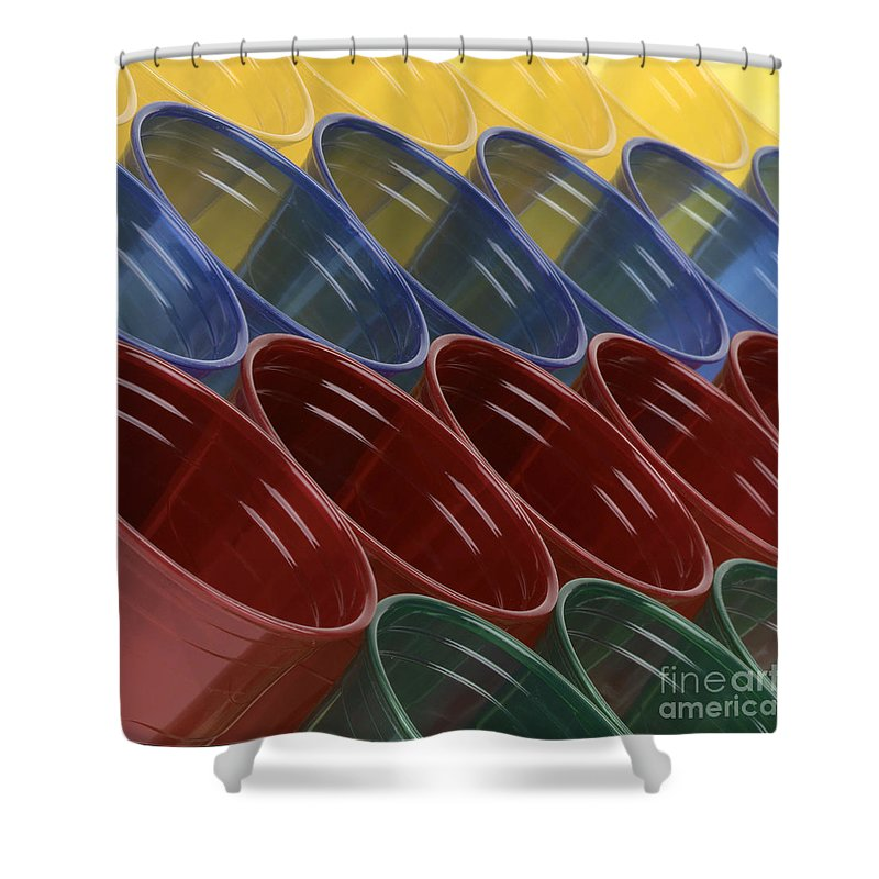 Cups Shower Curtain featuring the photograph Cups7 by Gary Gingrich Galleries