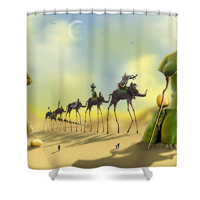 Drawers Photographs Shower Curtains
