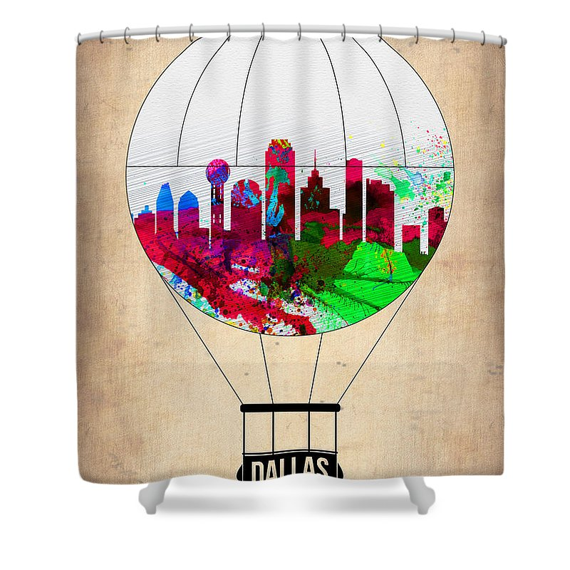 Dallas Skyline Shower Curtains