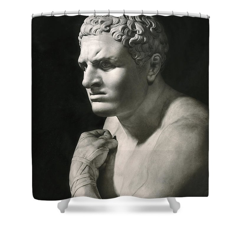 18th Century Shower Curtain featuring the photograph Damosseno By Antonio Canova by Underwood Archives