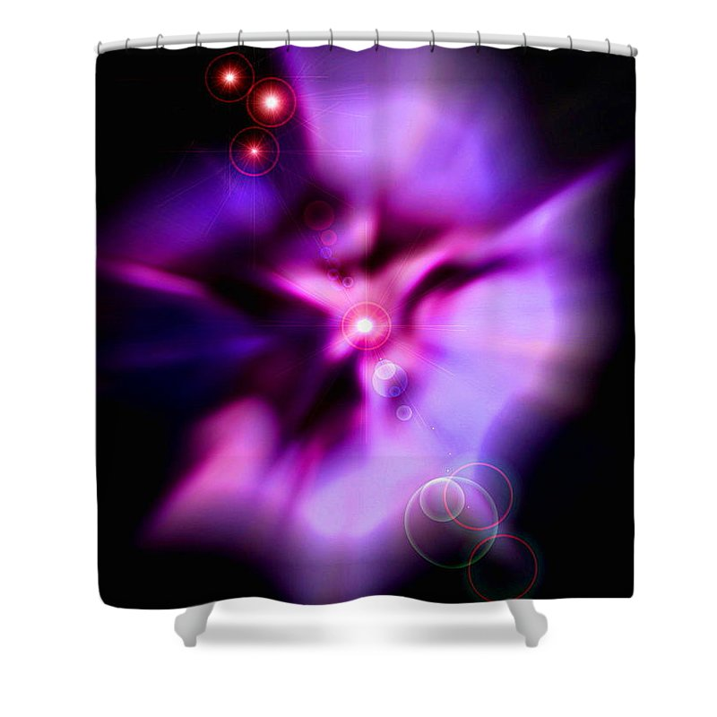 Pink Shower Curtain featuring the photograph Dance by Colleen Kammerer