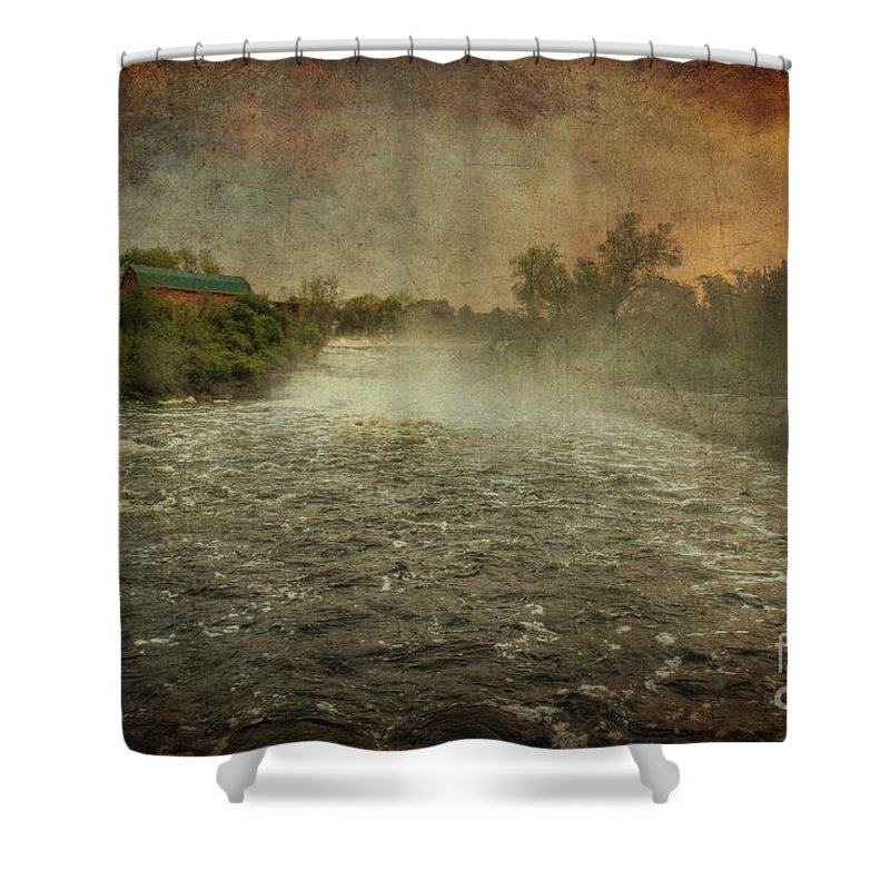 Xdop Shower Curtain featuring the photograph Dawn 4 by John Herzog