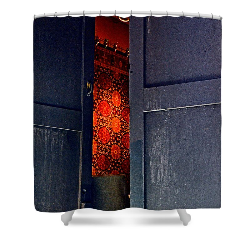 Abstract Shower Curtain featuring the photograph Destiny by Lauren Leigh Hunter Fine Art Photography