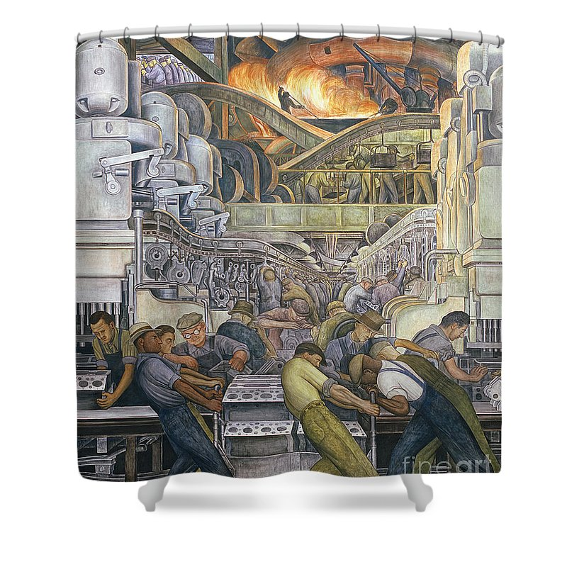 Industry Shower Curtains
