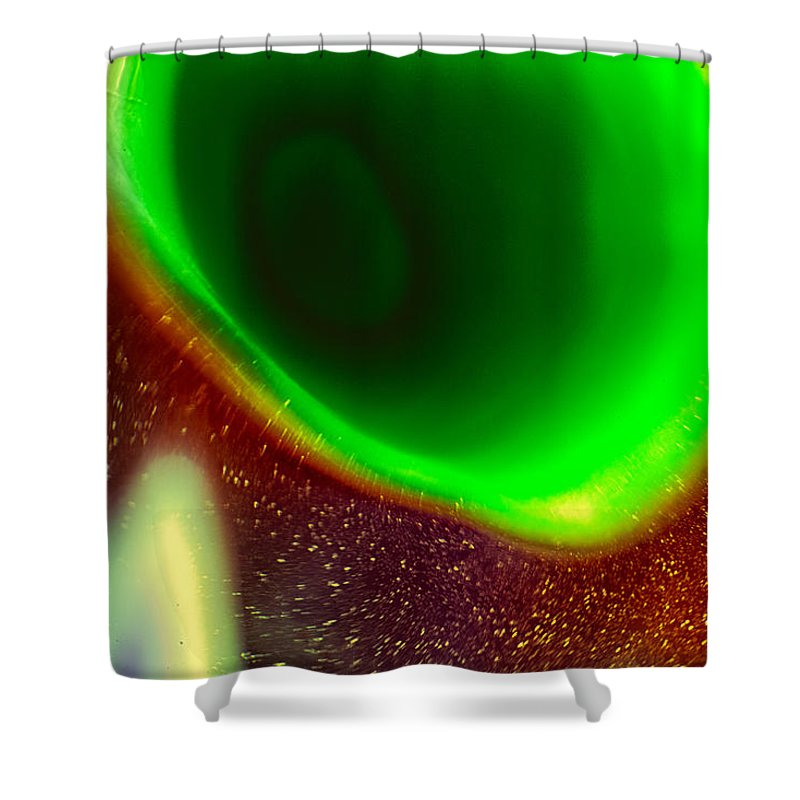 Glass Shower Curtain featuring the photograph Dimensions by Omaste Witkowski