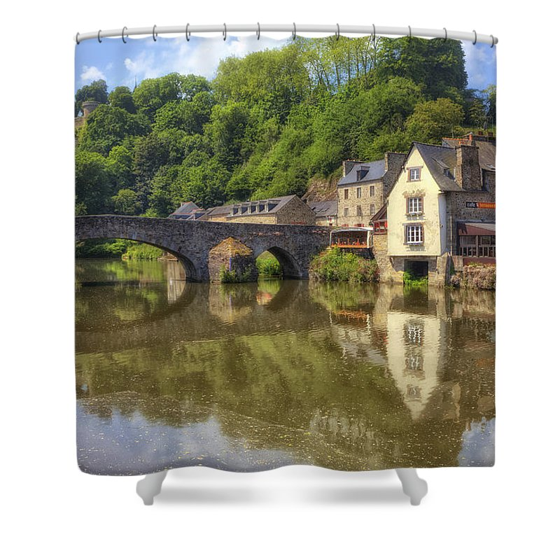 Port Shower Curtain featuring the photograph Dinan - Brittany by Joana Kruse