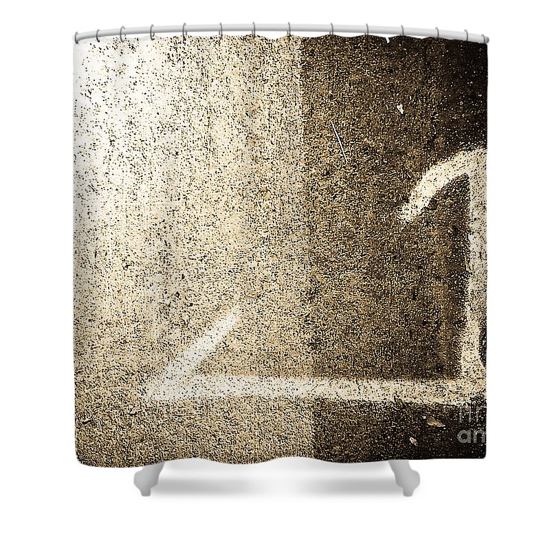 Abstract Shower Curtain featuring the photograph Directions by Fei A