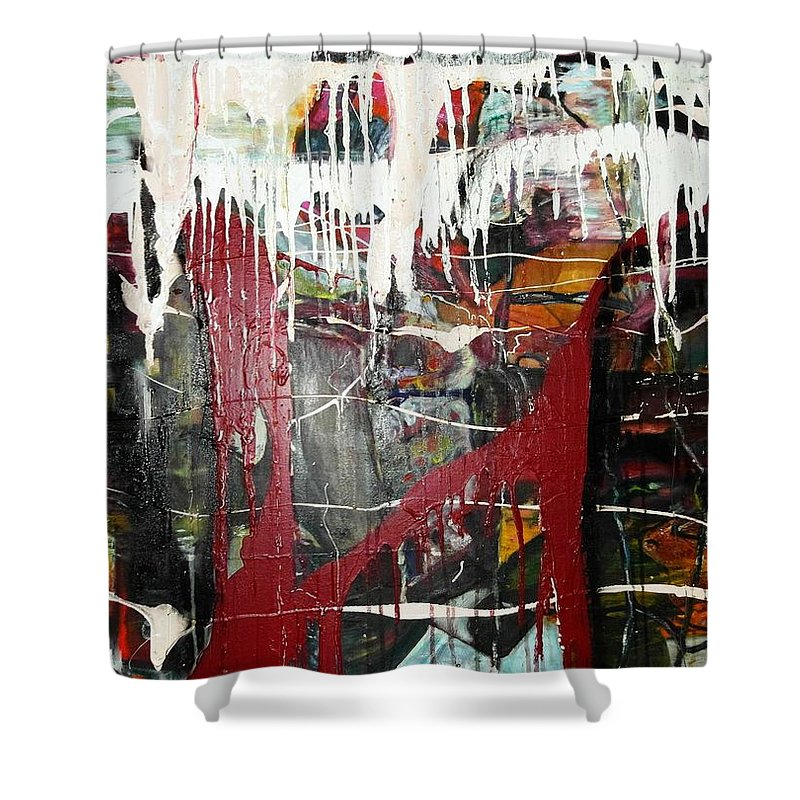 Non-objective Shower Curtain featuring the photograph Diversity by Peggy Blood