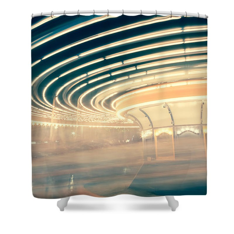 Carousel Shower Curtains
