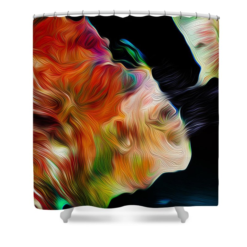 Djibouti Shower Curtain featuring the digital art Djibouti And Eritrea by Phill Petrovic