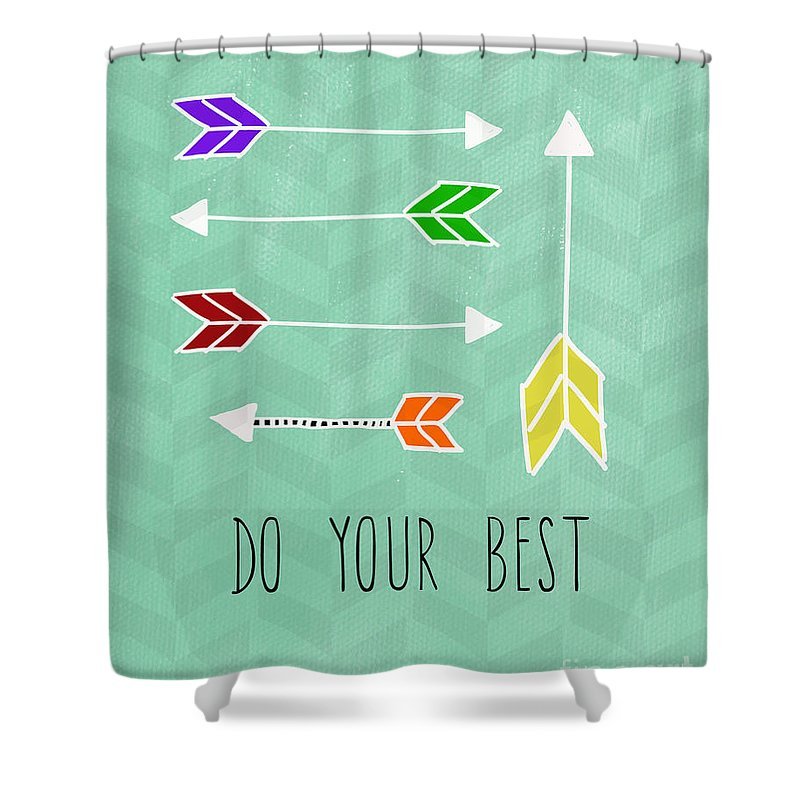 Uplift Mixed Media Shower Curtains