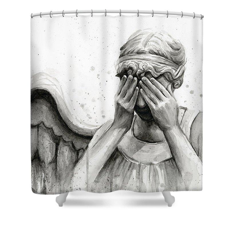 Villain Shower Curtains